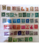 Small Mixed Lot Used India Postage Stamps Collection - $1.15