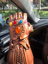 "Thanos Infinity War Gauntlet Avengers 36CM 14"" Resin 1:1 Wearable Glove ... - $43.11"