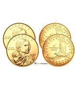 2007 P & D Sacagawea Dollars from US Mint Roll FREE Shipping CP2536 - $12.72 CAD