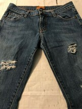James Jeans Women's Denim Boot Cut Stretch Distressed Destroyed Size 28 ... - $19.30