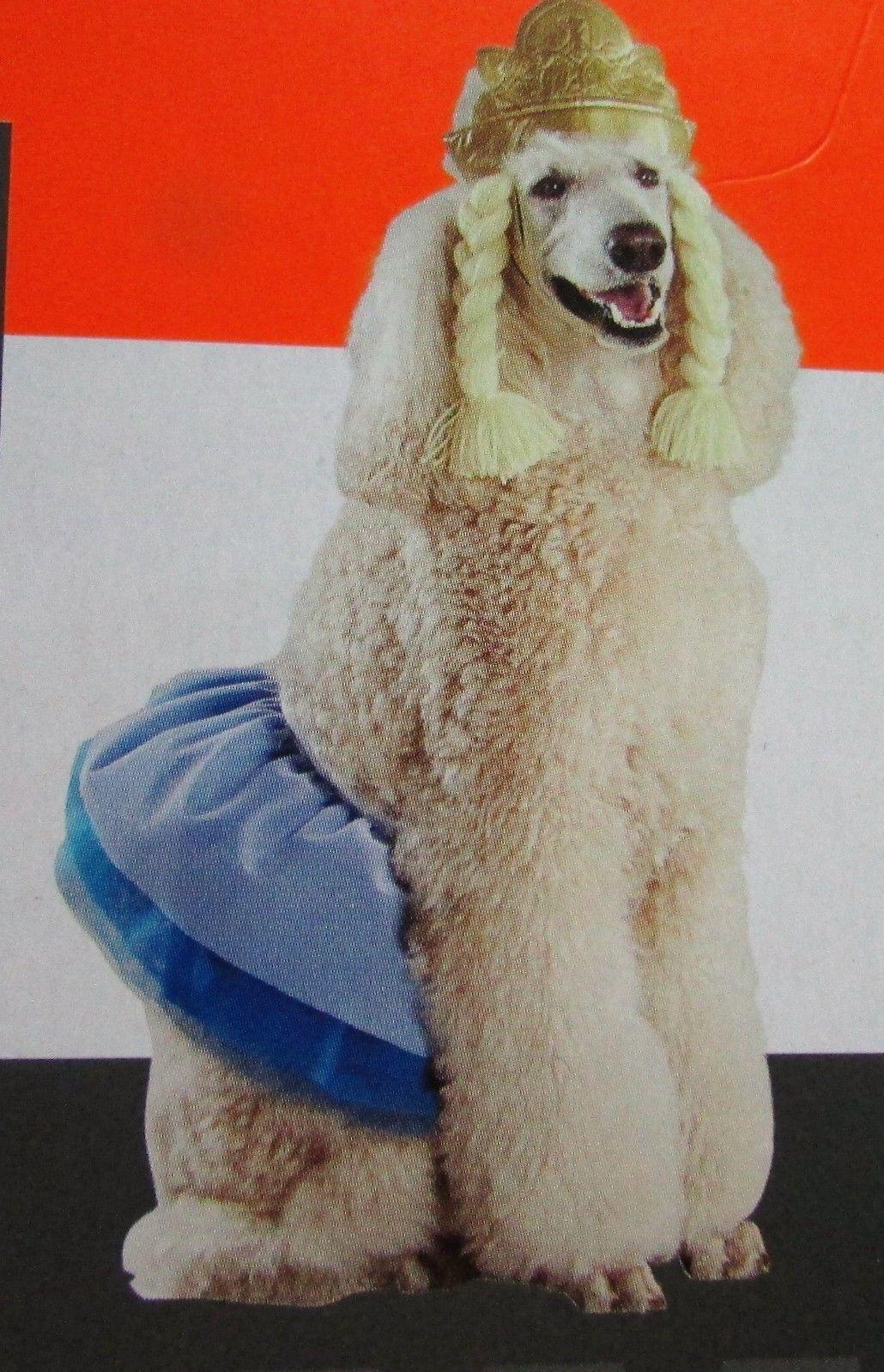 Princess Target Dog Costume Headband & Tutu Sz L/XL