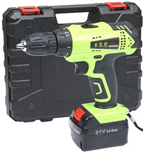 Rechargeable Lithium Battery Waterproof Electric Hand Drill 2 Speed Scre... - $178.11