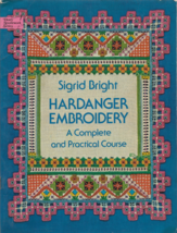 Vintage Pattern Booklet-HARDANGER EMBROIDERY-Complete Practical Course-B... - $9.46
