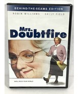 Mrs Doubtfire Robin Williams Sally Field Comedy DVD Divorce Movie Aerosm... - $13.87