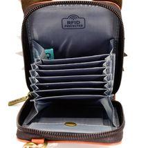 Chala Handbags Cute-C Red Fox Faux Leather RFID Credit Card Wristlet Holder image 3