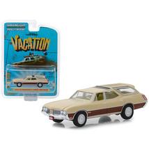 1970 Oldsmobile Vista Cruiser Cream National Lampoons Vacation (1983) Mo... - $13.15