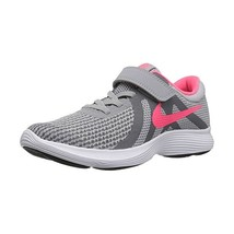Running Shoes for Kids Nike Revolution 4 Grey Pink - $50.21