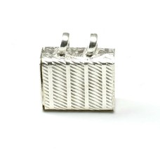 Pure Silver Tabiz Pendant locket Box Container Open able red book remedy - $11.40