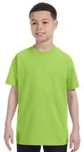 Jerzees Youth Heavyweight T-Shirt - 29B - Neon Green - $2.91