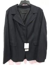 New Marina Rinaldi Wool Silk Jacket Size 20 - $467.50