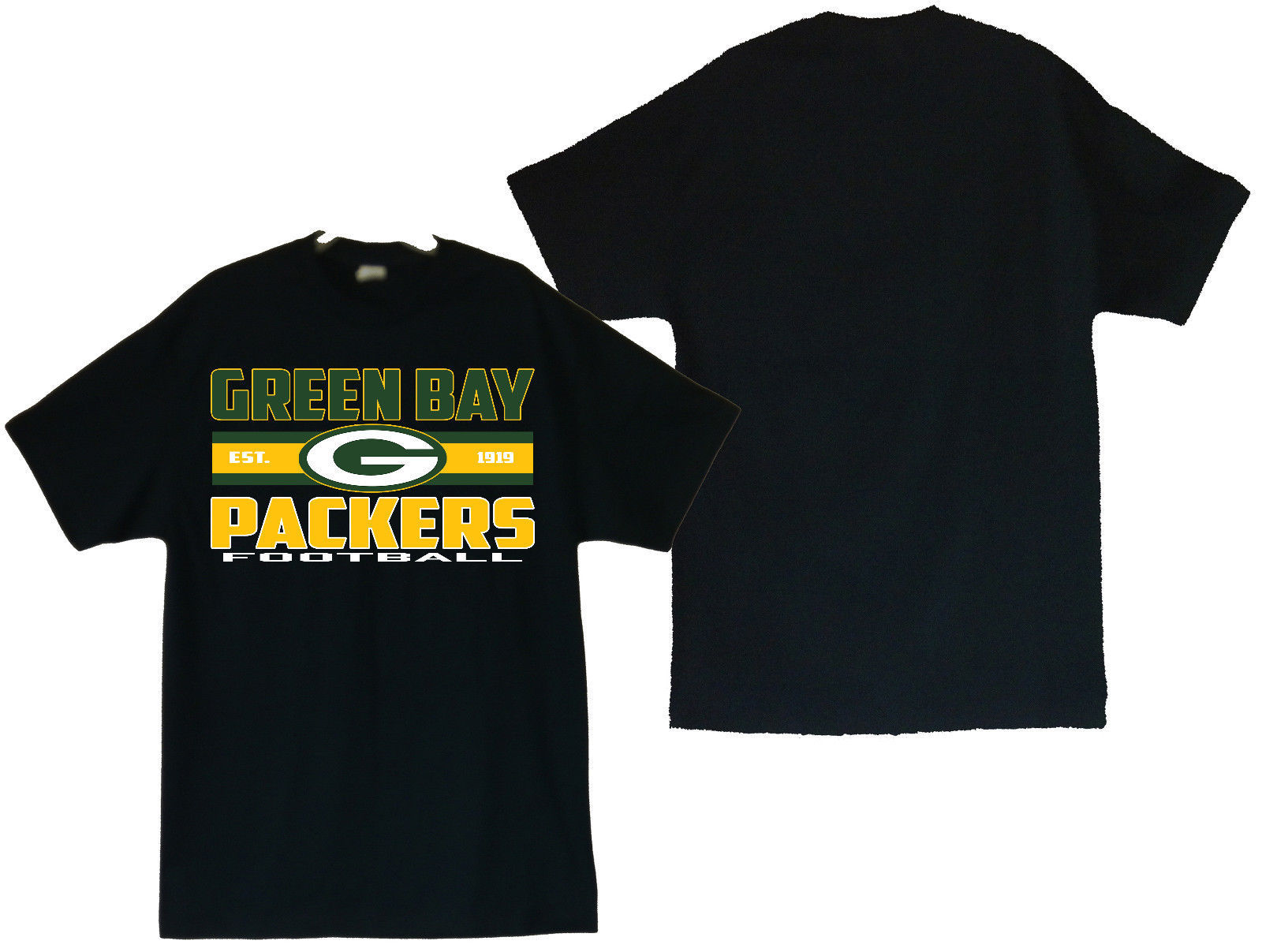 Primary image for Green Bay Packers Football Men's T-Shirts Sizes (S thru 4XL)
