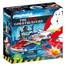 Playmobil Ghostbusters Zeddemore With Aqua Scooter Building Set #9387 NEW - $12.99