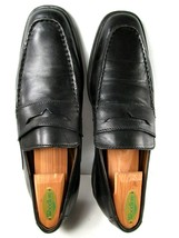 Clarks  Mens Shoes  Black  US Size 9.5 M Loafers Slip On Leather EUC - $24.24