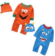 StylesILove Little Monster Baby Boy Cotton Long Sleeve Halloween Costume... - $16.99