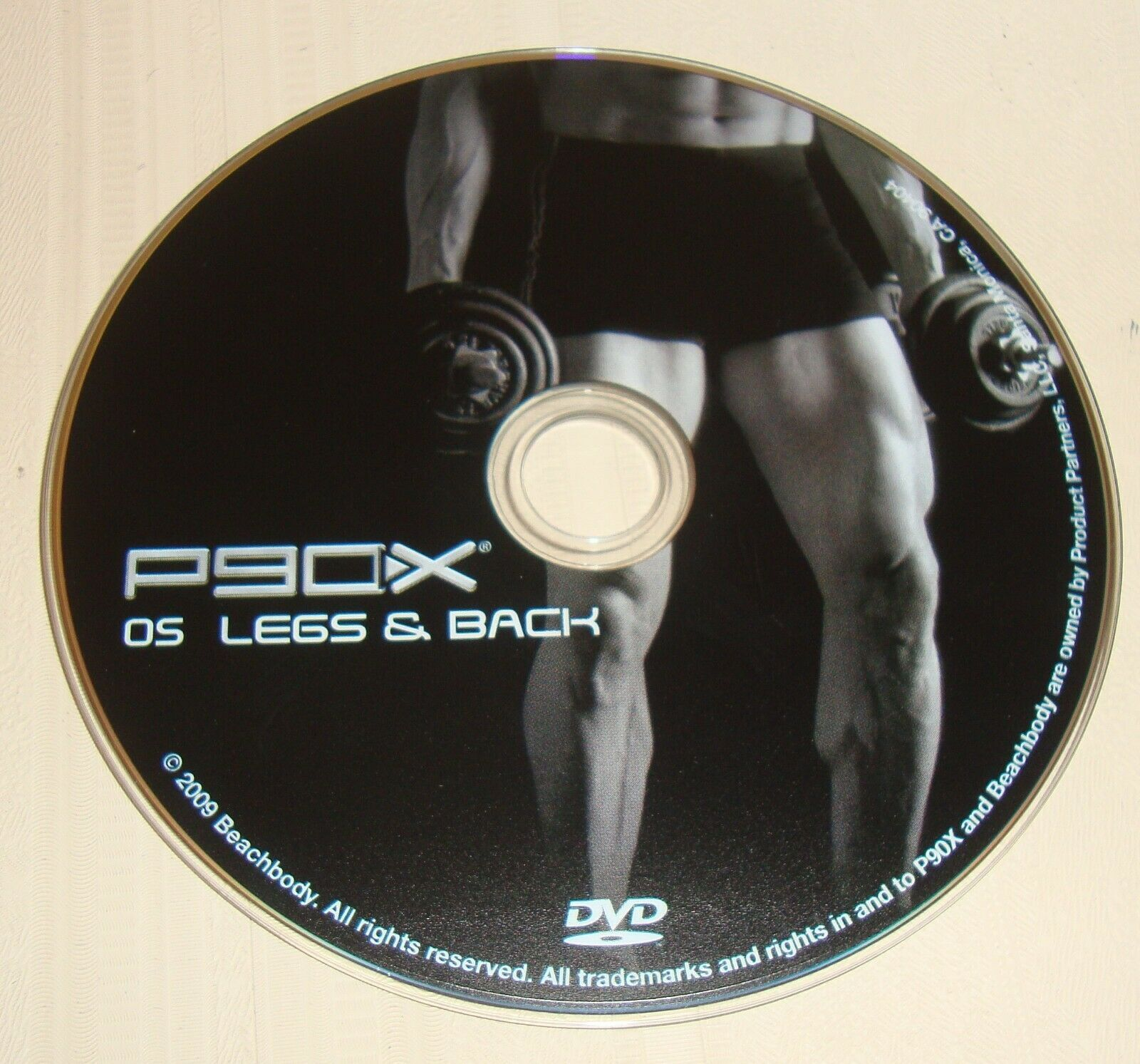 Primary image for BEACHBODY P90X Replacement DVD 5 LEGS AND BACK
