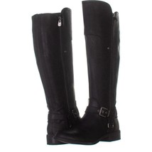 G by Guess Harson Wide Calf Flat Knee-High Boots 780, Black Multi, 7 US - $32.63
