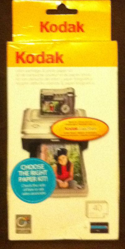 Genuine Kodak PH 40 Easyshare Color Cartridge Amp Photo Paper Kit For Printer Dock