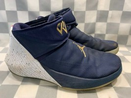 Air Jordan Why Not Zero .1 Westbrook Homme Chaussure Taille 13 Bleu AA2510-431 - $55.88