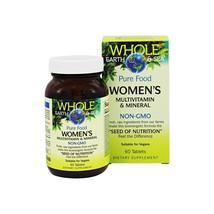 Whole Earth & Sea Women's Multivitamin & Mineral, Raw, Whole Food Nutrition, 60  - $30.07