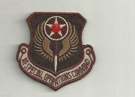 Afsoc Air Force Special Ops Command Desert Patch - $18.04