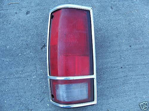 1982-1993-CHEVY S-10/OTHERS-TAILLAMP-LEFTHAND(DRIVER)