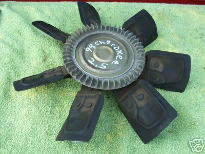 1984-2000 cherokee 2.5 4 cyl fan clutch (others)
