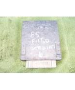 1985-1986 FORD TRUCK ECU 6CYL WITH MANUAL TRANSMISSION - $13.73