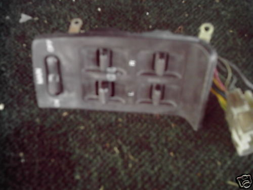 Primary image for 1985-1988 NISSAN MAXIMA MASTER WINDOW SWITCH