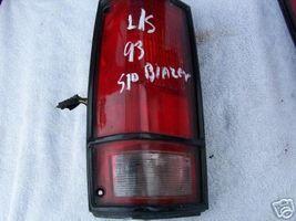1985 1994 Blazer S10/Jimmy Blk Bezel L/S  Tail Light - $11.06