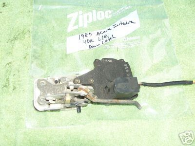 1986-1989 ACURA INTEGRA LEFT REAR POWER DOOR LATCH