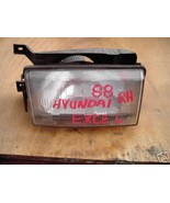 1988-1989 HYUNDAI/PRECIS  HEADLIGHT RIGHT (PASSENGER) - $13.73