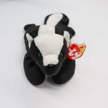 Ty Beanie Babies Stinky the Retired Skunk Plush Toy Stuffed Animal - $24.19