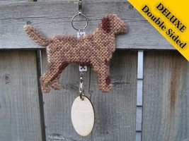 Chesapeake Bay Retriever Deluxe crate tag, hang... - $29.00