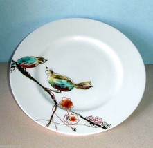 "Lenox CHIRP Simply Fine Salad Accent Luncheon Plate 9.25"" Birds on Branc... - $24.90"
