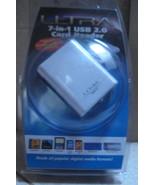 Ultra - White 7-in-1 USB 2.0 Card Reader - ULT31120 - $22.50