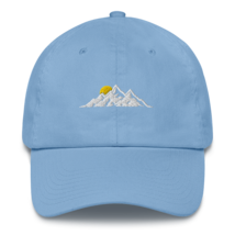 MOUNTAINS HAT / MOUNTAINS EMBROIDERED HAT / MOUNTAINS EMBROIDERED CAP / COTTON C image 4