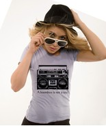 XL A Boombox is not a Toy teen ladies funny t s... - $15.99