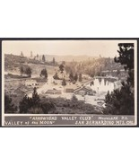 Arrowhead Valley Club, CA RPPC 1920s BEV San Bernardino Mts., Moon Lake #2 - $59.75