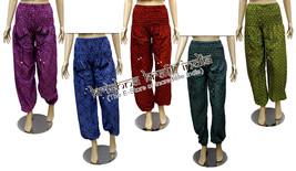 10 Cotton Casual Hand Block Print Trousers Pants Lounge Wear Boho Gypsy ... - $69.99