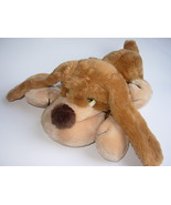 Russ Samuel Floppy Dog Brown Plush Stuffed Animal 13 inches Basset Hound - $12.98