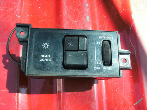 1989-1991 olds eighty eight headlight switch with dimme
