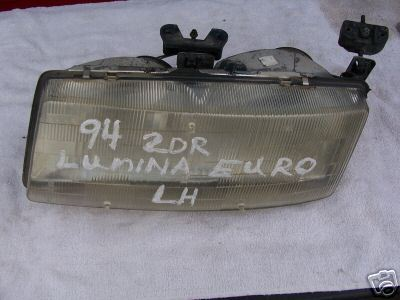 1990-1994 LUMINA CAR HEADLAMP LEFT SIDE (DRIVER)