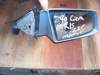 Primary image for 1990 -OLDS CIERA MIRROR-MANUAL -RIGHT  SIDE