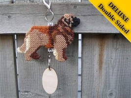 Leonberger Deluxe crate tag double sided, hang anywhere, dog show agilit... - $29.00