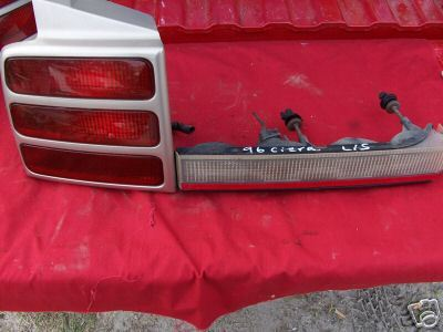 1991-1996 CIERA TAIL LIGHT LEFT SIDE 4 door