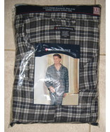 New Men's Knightbridge Yarn Dyed Flannel Pajammas Long Sleeve/ Long Leg ... - $25.00