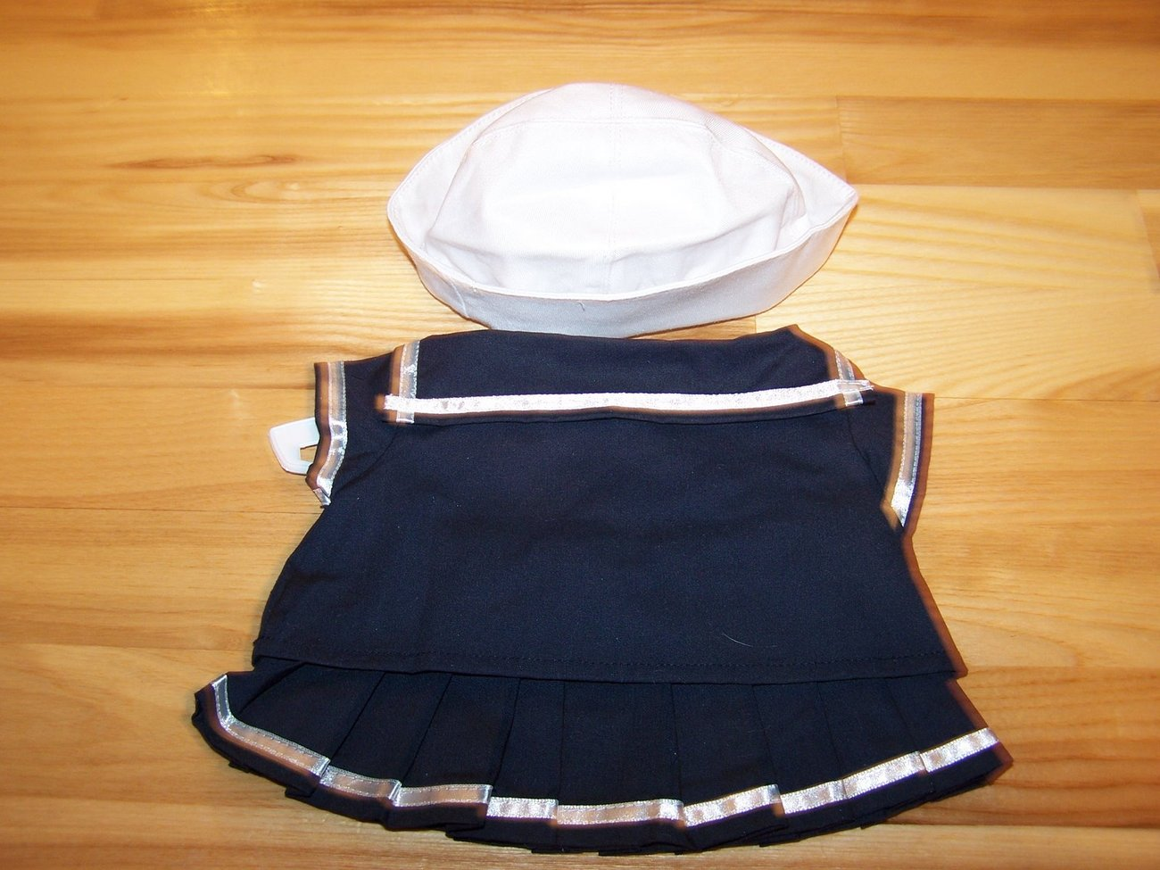 Nautical Sailor Dress With Hats For Pets Dog  Size: Small