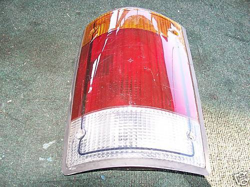 1992-1994 ford van left side taillight assembly