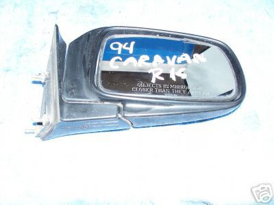 1992-1995 CARAVAN/VOYAGER-MIRROR-MANUAL-RIGHT SIDE-PASS