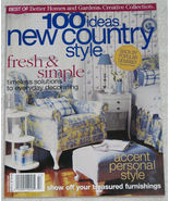 100 Ideas New Country Style Best of BHG Creative Collection - $5.50